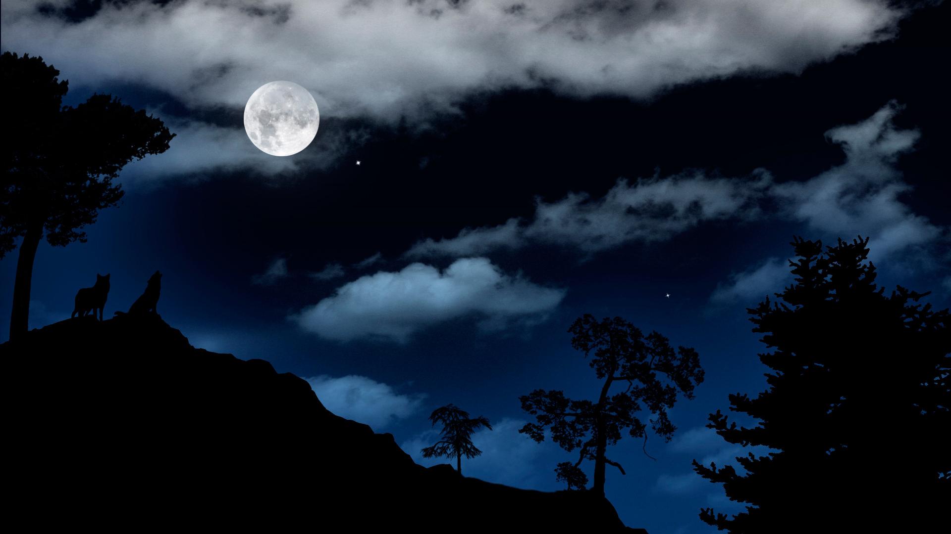 Удивительная красота лунной ночи, которая сводит с ума