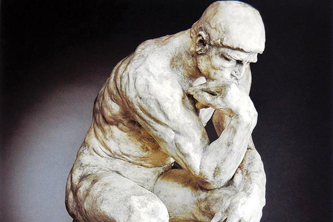 МЫСЛИТЕЛЬ (Огюст Роден, 1882)