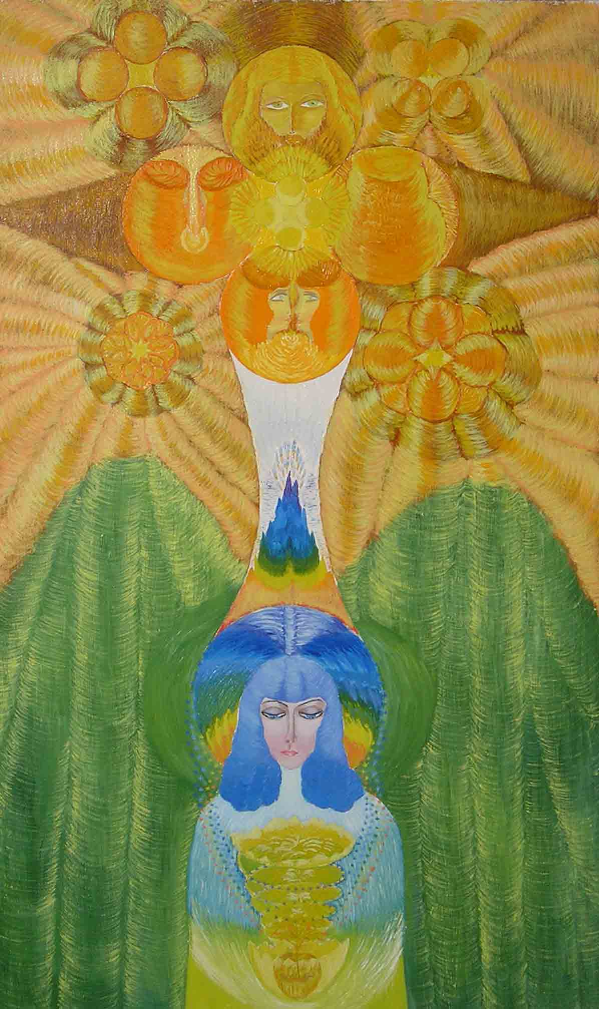 эзотерическая живопись; Инна Пальковская Чабанюк