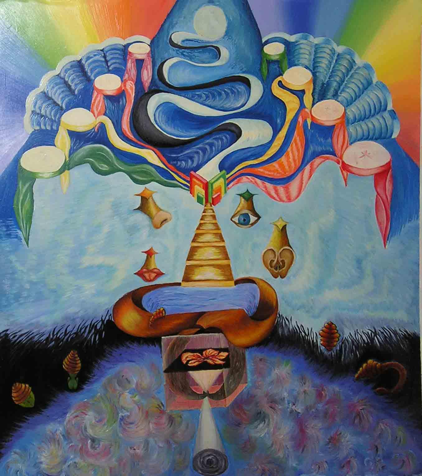 эзотерическая живопись, картины, Небесная Нить, Пальковская-Чабанюк, Ступени чувствоЗнания