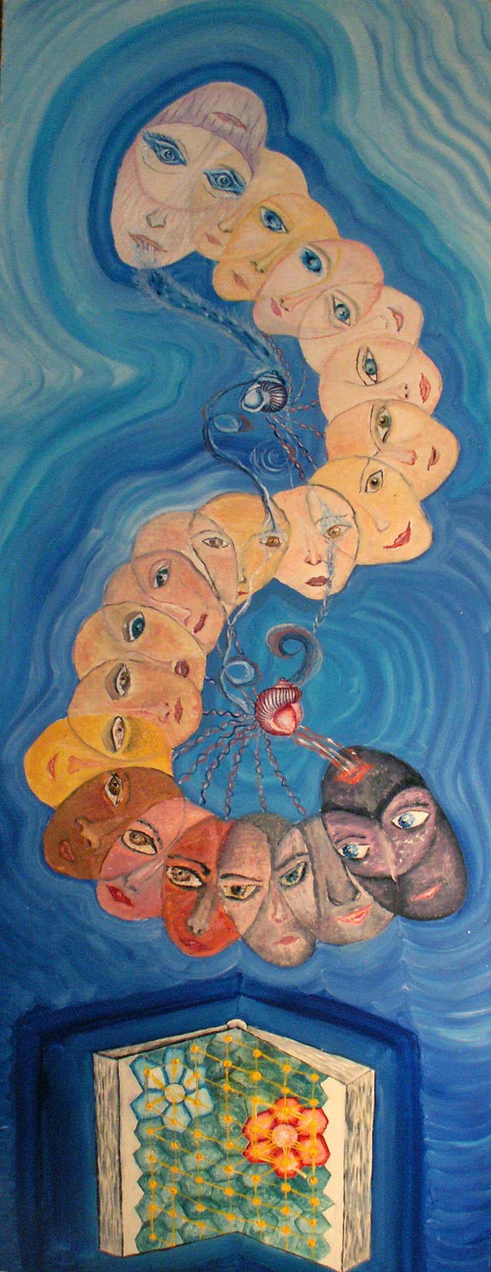 эзотерическая живопись, картины, Небесная Нить, Пальковская-Чабанюк,
