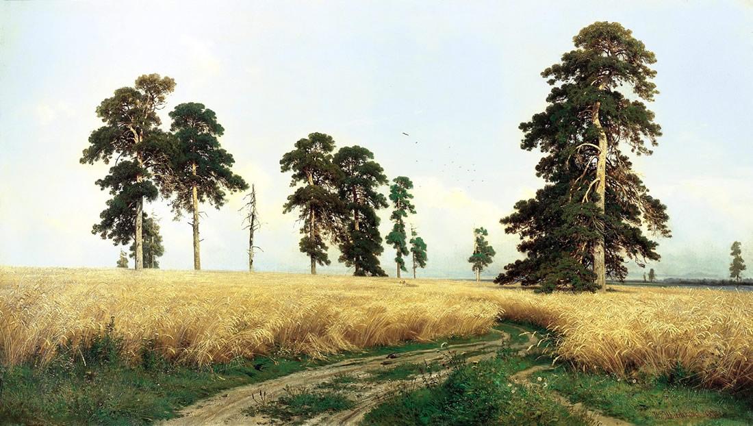 Картина русского художника Ивана Ивановича Шишкина
