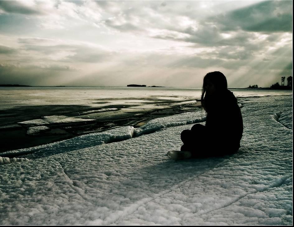 Печальные картинки о одиночестве